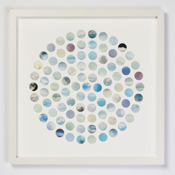 Circle of sky dots
