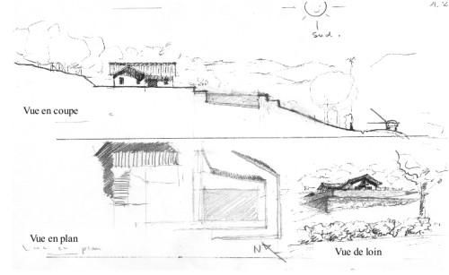Construire une piscine dans un jardin en pente for Piscine hors sol sur terrain en pente