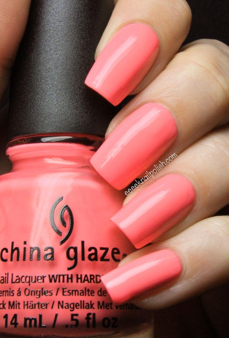 China Glaze - Neon & On & On | Eeeek Nail Polish