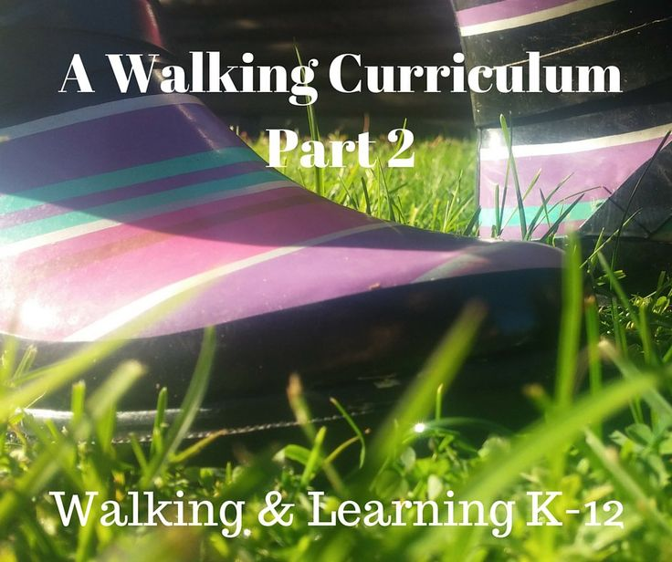 Walking Curriculum: Activity Set #2 Did you miss the first set of Walking Curriculum activities?  If so, click here. Just a reminder for readers that these walking-focused learning activities are f...