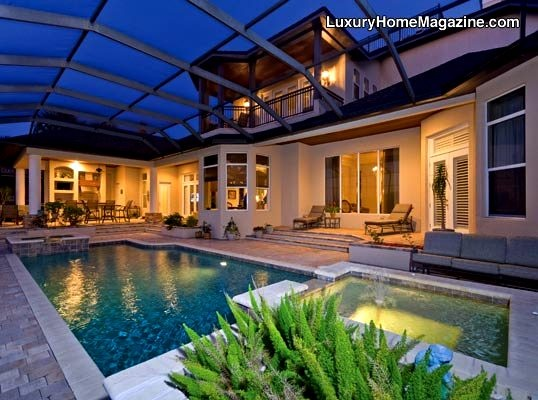 1000 images about vg fav luxury homes on pinterest for Luxury house pool