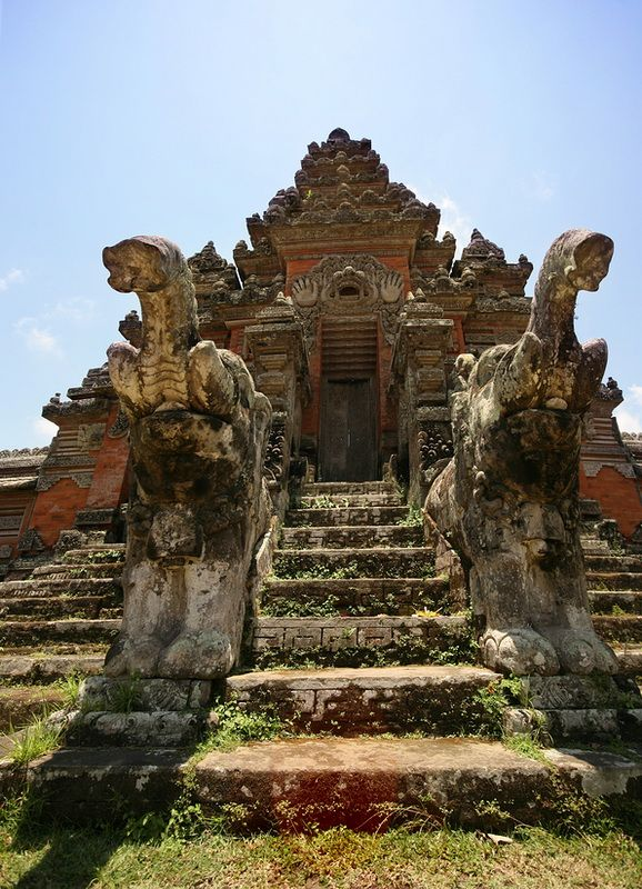 Bali – Indonesia - Ranks in at #9 for the Top 100 Wonders of the World.- Anyone who knows where this temple is, please comment!  I want to see it when I go back!