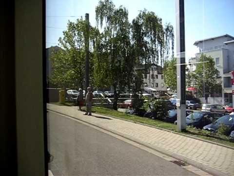 #Saarbahn #bei #der Jungfernfahrt #durch #Riegelsberg #am 26.09.09  #Riegelsberg #Saar Jungfernfahrt #der #Saarbahn #in #Riegelsberg #am 26.09.09 #Video wurde #aus #der 1. #Saarbahn gefilmt #die offiziell #mit Passagieren #durch #Riegelsberg gefahren #ist. #Saarbruecken #Saarland http://saar.city/?p=54355