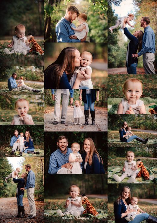 Oak Grove Lake Park Family Session, One Year Old Portraits in Chesapeake, VA by …