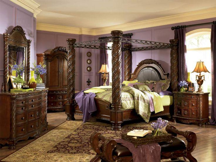 Best 25  King bedroom furniture sets ideas on Pinterest ashley furniture north shore bedroom set   North Shore   King Canopy  Bedroom Set Signature Design. Canopy King Bedroom Sets. Home Design Ideas