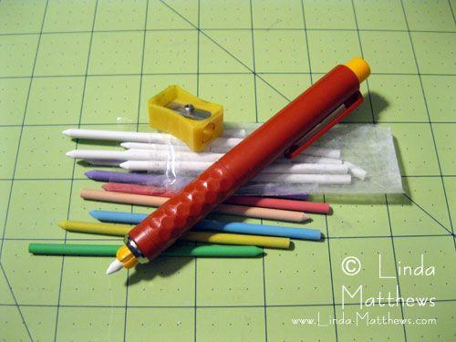 chalk marking tool is the Bohin Chalk Pencil.
