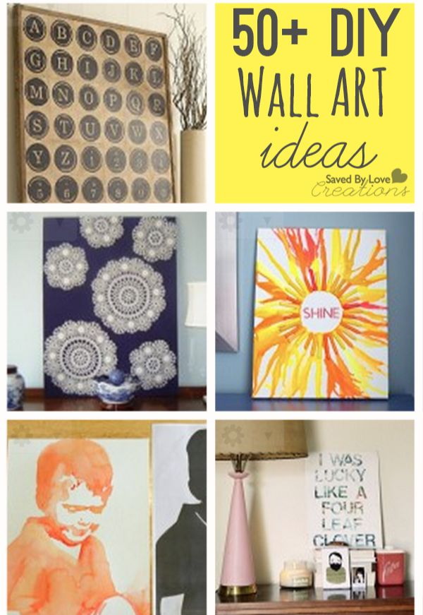 50+ Easy ways to decorate your walls from @savedbyloves