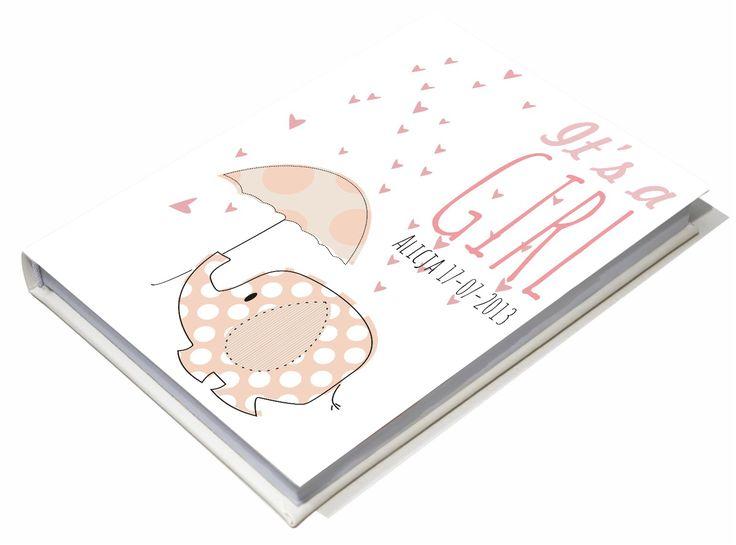 Księga gości dla dziewczynki Baby shower