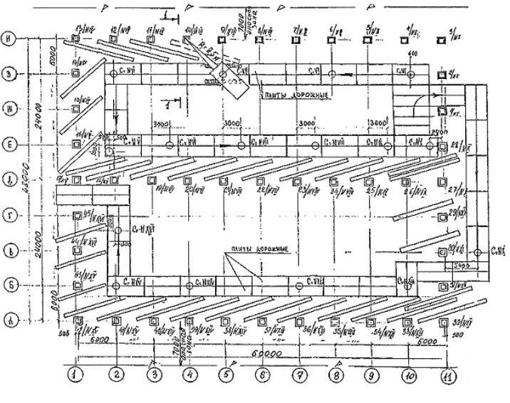 Картинки по запросу технологическая схема монтажа одноэтажного промышленного здания