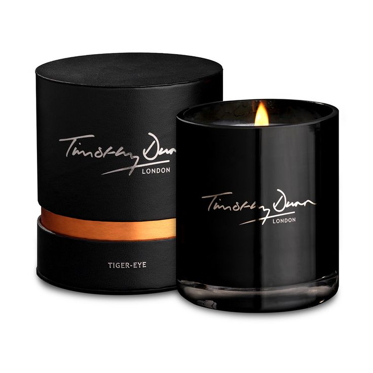 Discover the Timothy Dunn Tiger-Eye Luxury Candle at Amara