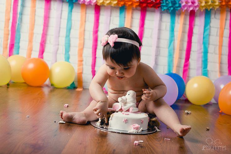 MARÍA CUMPLE 1 AÑO · Fotografía infantil de bebés en El Ejido Almería
