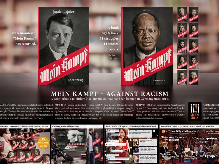 Clio Awards Winning Ad by Ogilvy Germany, Germany for Gesicht Zeigen! An association encouraging people to stand against racism in Germany
