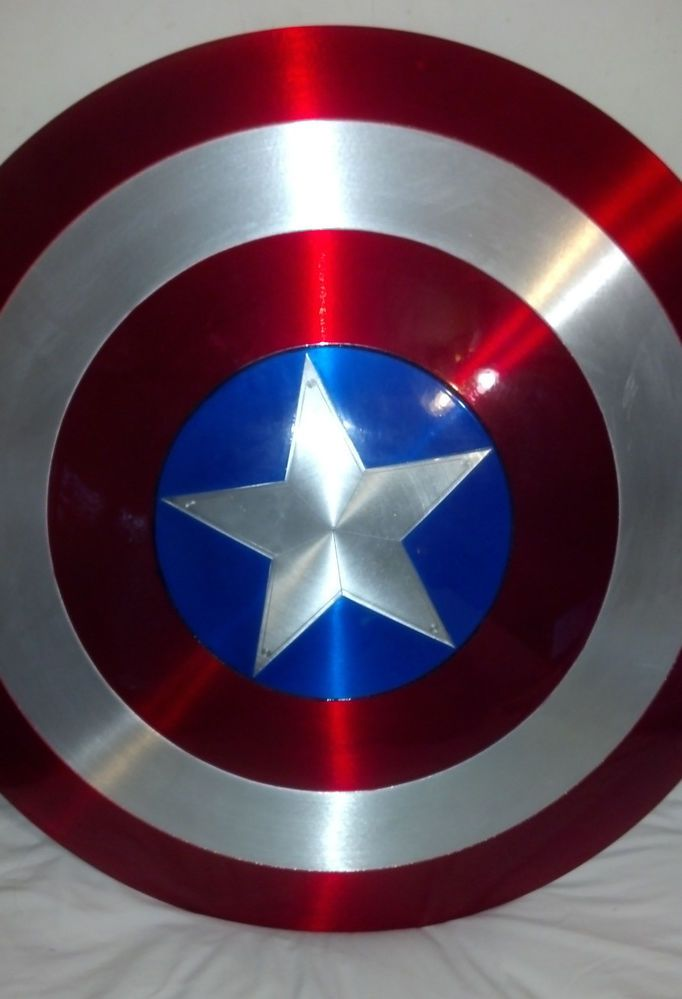 Metal Aluminum Captain America Shield - Well that was a tease. :( #doesn'tshiptoaus
