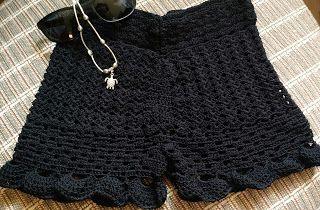 Fada do Crochet: Short Verano...