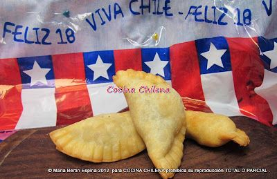 EMPANADAS FRITAS DE PINO....Step by step photos and instructions....in spanish.