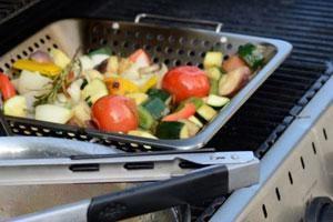Grillen mit Gas - Rauchfreie Alternative
