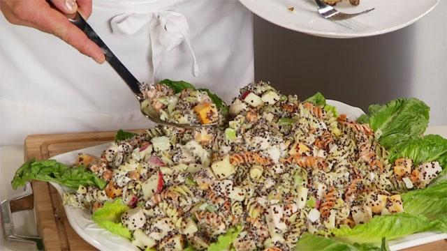 BYUtv - Chef Brad: Fusion Grain Cooking - Black Quinoa episode with healthy salad and banana bread