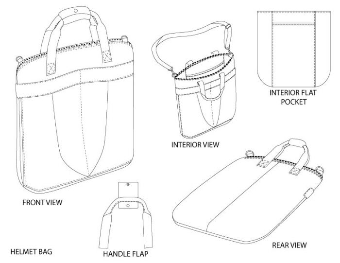 Wonderful Image Result For Knit Bag Technical Drawing  Drawings