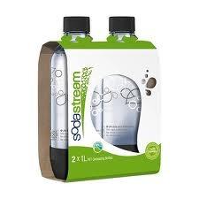 Täyttöpullot SodaStream, 1 litra.