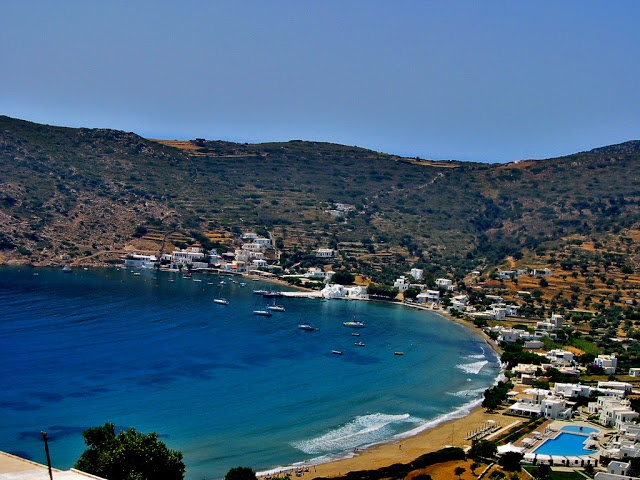 Vathi, Sifnos, Cyclades, Greece.