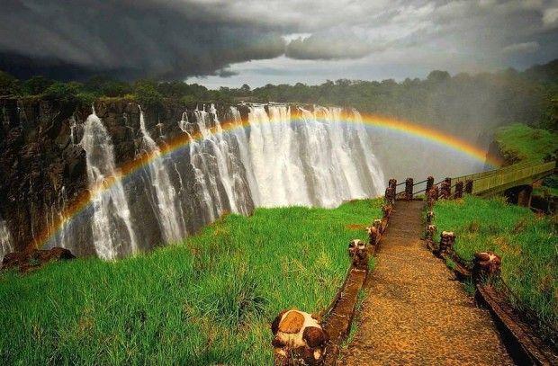 50 erstaunliche Fotos von wundervollen Orten auf der ganzen Welt, die Sie besuchen müssen (Teil 1), Victoria Falls, Sambia und Simbabwe wundervollen orten mussen ganzen fotos erstaunliche besuchen