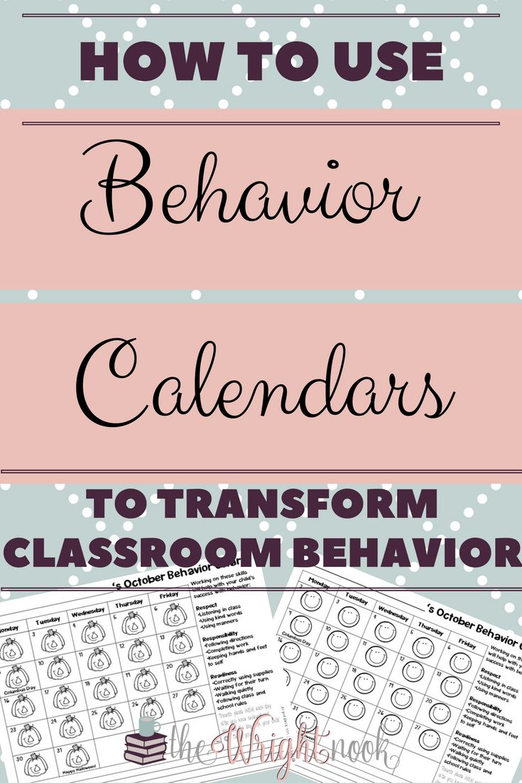 Tips for using behavior calendars for  positive improvement. Make students take responsibility for their actions and keep parent contact all on one form!! FREEBIE INCLUDED