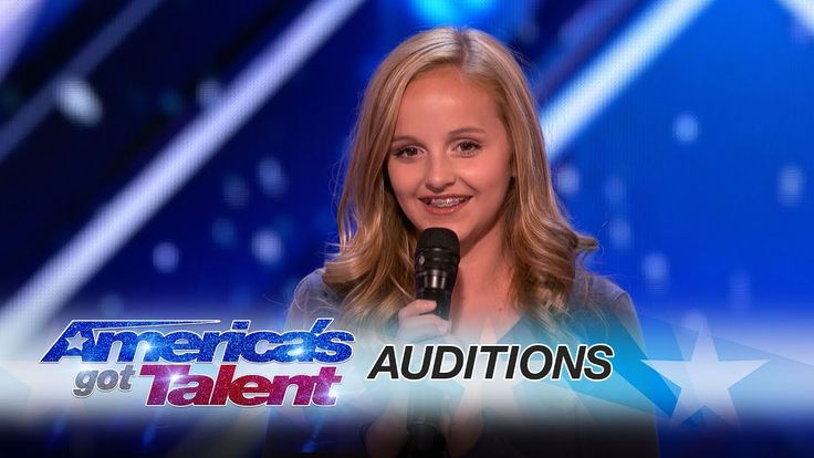 Evie Clair: Teen Performs Moving Song For Father Battling Cancer - America's Got Talent 2017 - YouTube