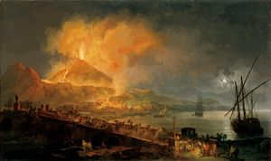 Eruption of Vesuvius in 1771  Pierre-Jacques Volaire