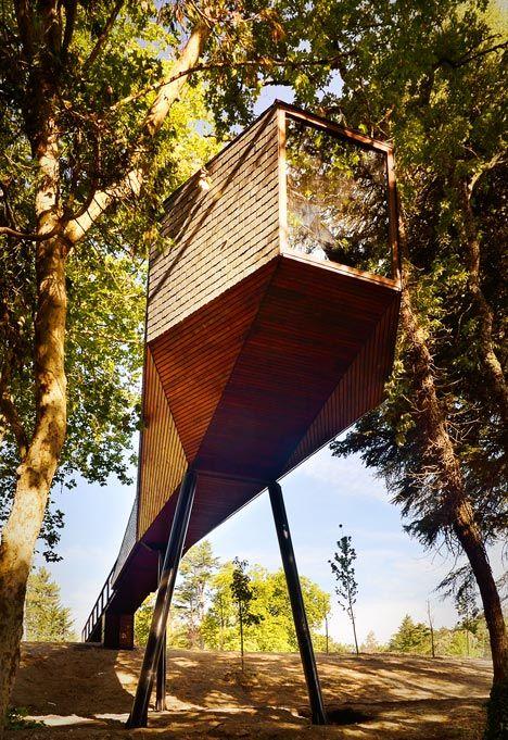 Casas Serpiente, Parque Natural y Spa Pedras Salgadas, Bornes de Aguiar, Portugal - Rebelo de Andrade Studio - foto: Ricardo Oliveira Alves
