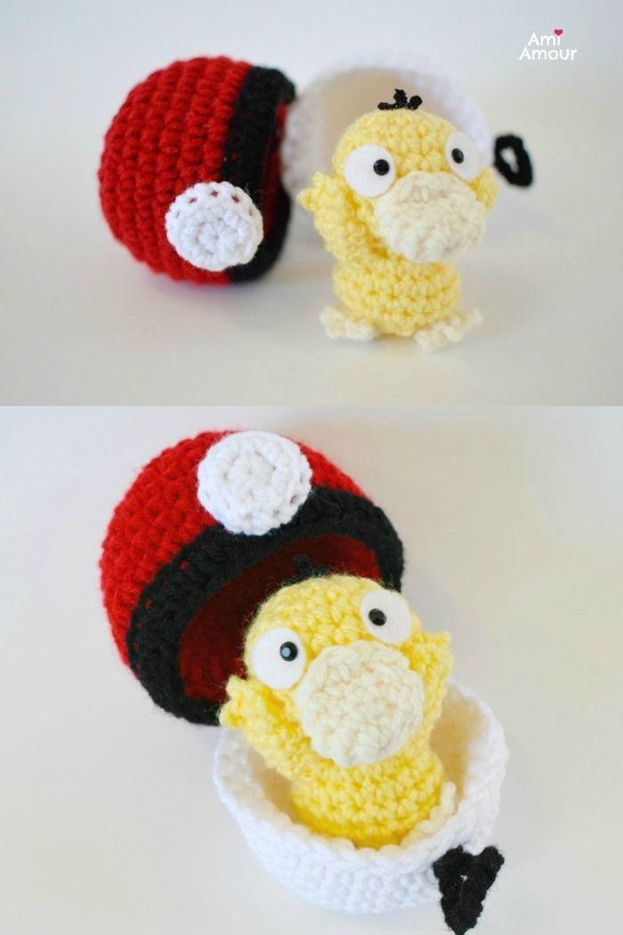 Psyduck Amigurumi Crochet Pattern - Pokemon | Crochet | Croché ...