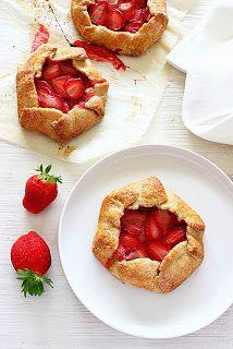 Zoet & Verleidelijk: Aardbeien galettes
