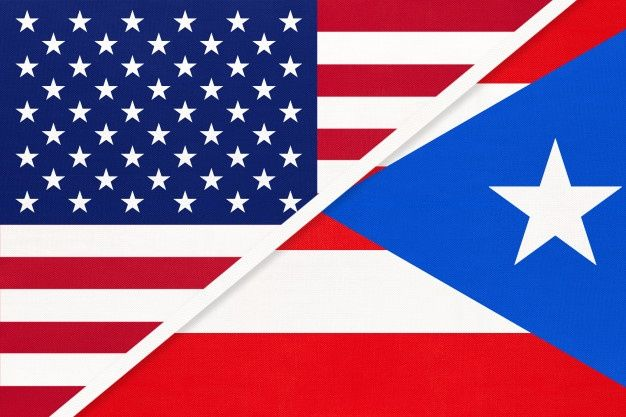 Usa Vs Puerto Rico National Flag Relationship Between Two Countries In 2020 National Flag Latin American Flags Flag Icon