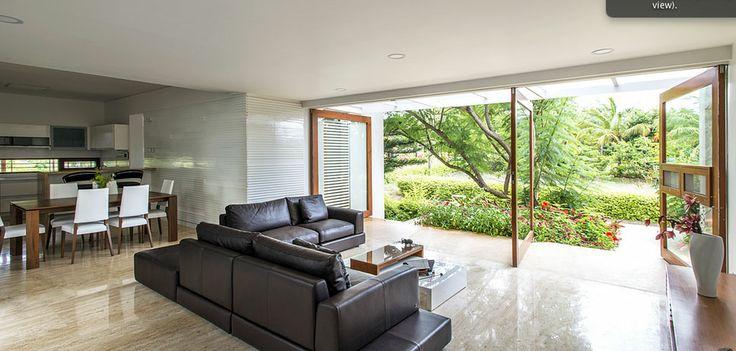 Architecture Paradigm: Leafy Bangalore Residence : Inside Outside Magazine