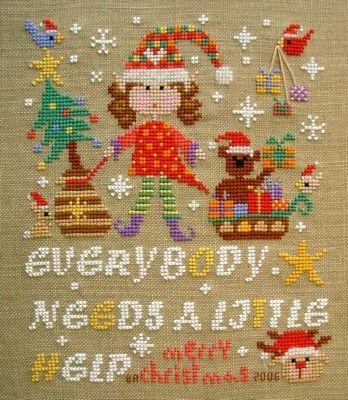 Christmas Elf Helper - Barbara Ana Freebie