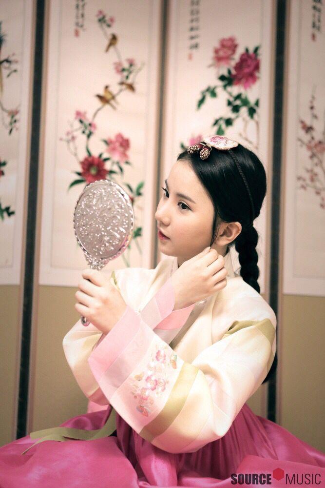 Gfriend Kpop Hanbok Hanbok Kpop Muhtesem Doga