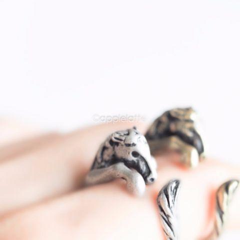 Horse Ring, Adjustable Ring, Animal Ring