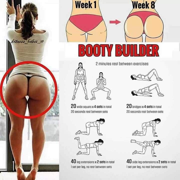 The next booty challenge