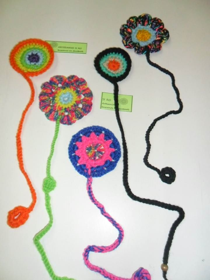 BOOKMARKS - CROCHET -