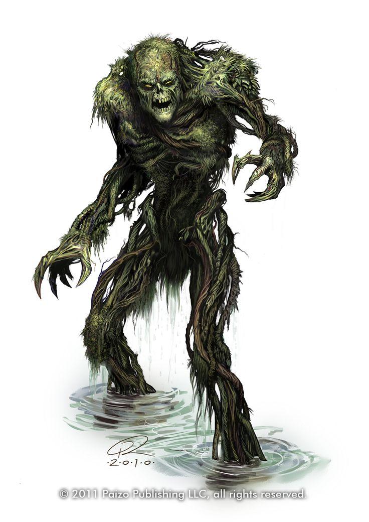 Swamp+Monster+by+Akeiron.deviantart.com+on+@deviantART