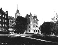 Administration Building and West Wing at the Virginia Intermont College, Bristol, Virginia
