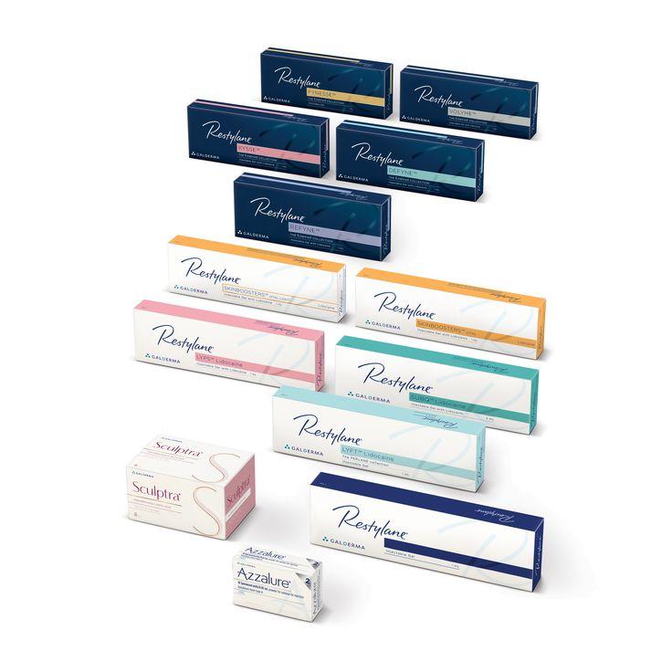 Portfolio Restylane - anti-aging for all skin types.
