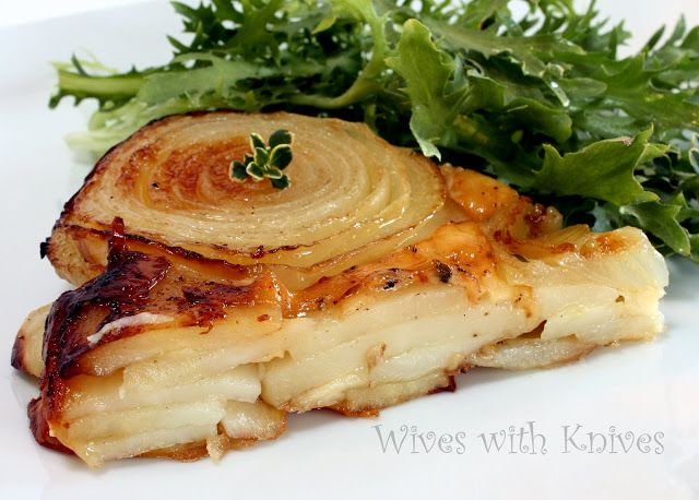 Potato, Walla Walla Onion and Gruyere Galette | Wives with Knives