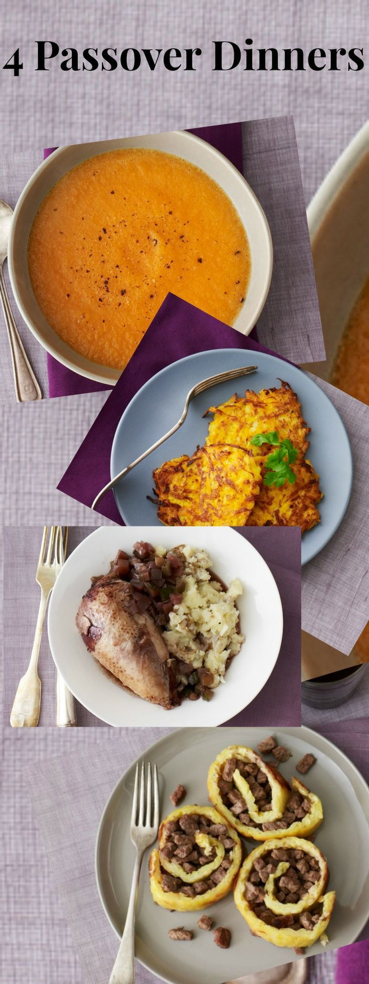 Passover Dinner Tonight Recipes perfect for now and during.