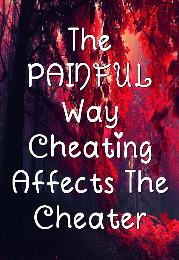 How cheating affects cheater