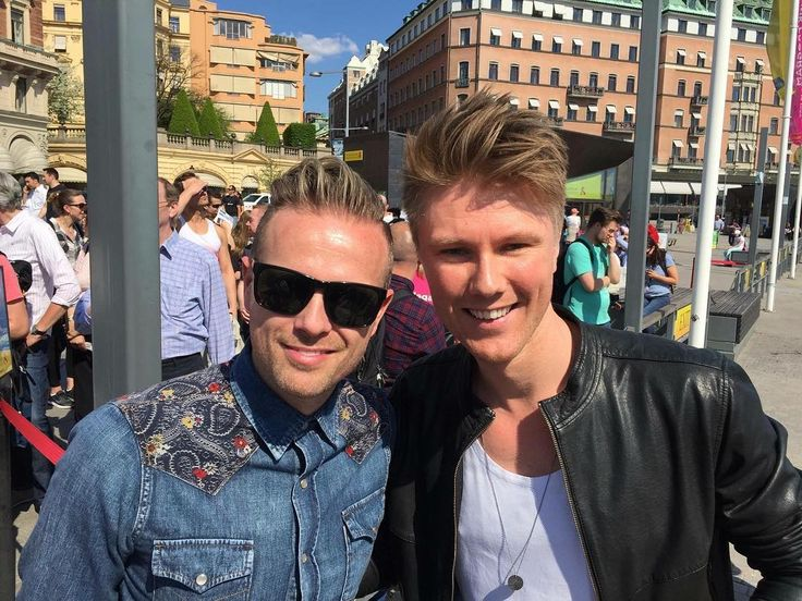 When your boys greet you from Eurovision land and Nicky from Westlife tells the press that his favorite song of all time Eurovision is your song. Awww.  #newtomorrow #esc2011 #esc2016 #lighthousex @nickybyrne2016 @westlifemusic #westlife @martin_skriver by timschouonline