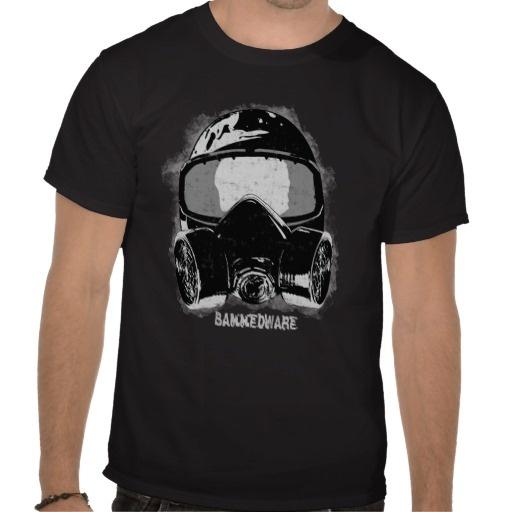 Paint mask t shirts