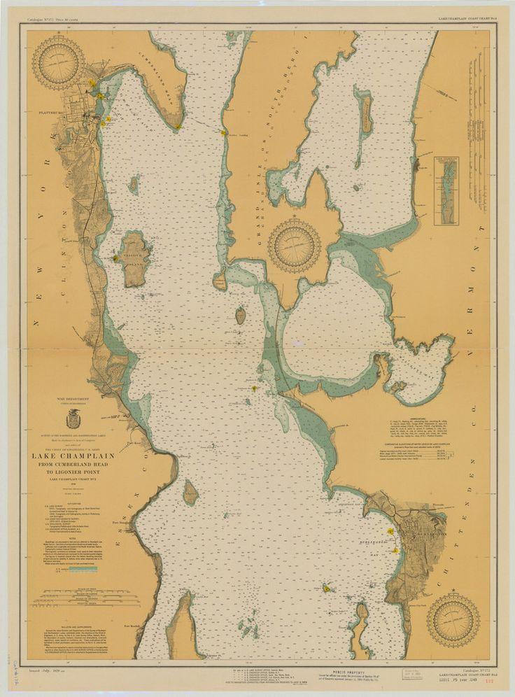 Nautical Map Boston Harbor Islands