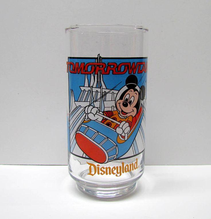Vintage Disneyland, TOMORROWLAND, 1989 McDonld's Corp / 1989 The Walt Disney Company - Home Decor - Collectibles by VINTAGEandMOREshop on Etsy https://www.etsy.com/listing/253992401/vintage-disneyland-tomorrowland-1989