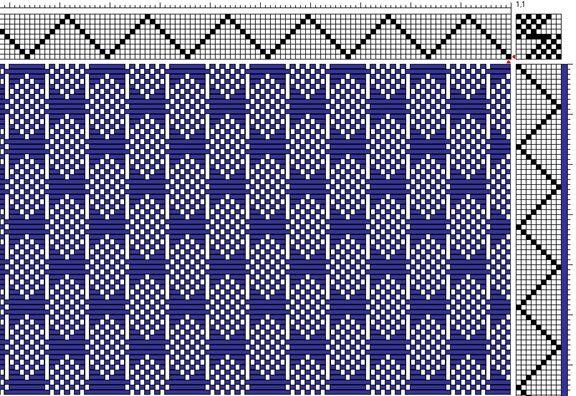 8 Harness Weaving Patterns Winter Patterns Elsavadorla