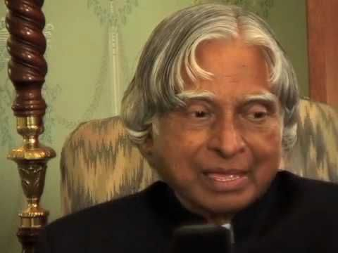 Knowledge@Wharton Interviews Former Indian President APJ Abdul Kalam.